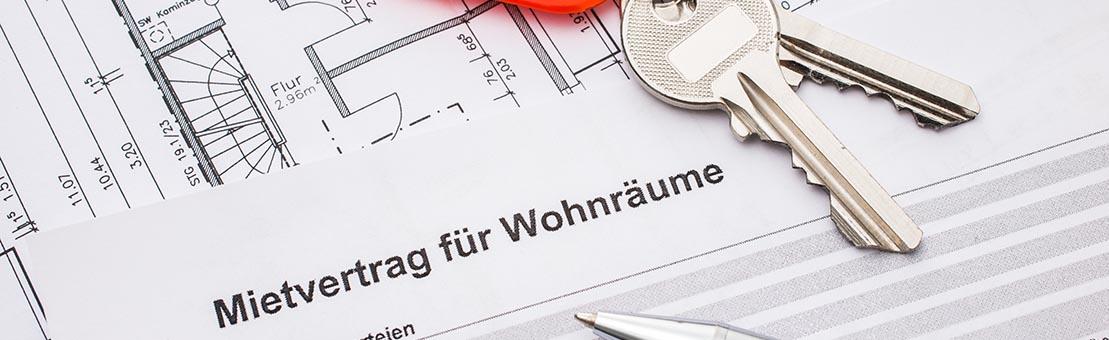 Wohnungsverwaltung Brandenburg - Mietvertrag für Wohnräume