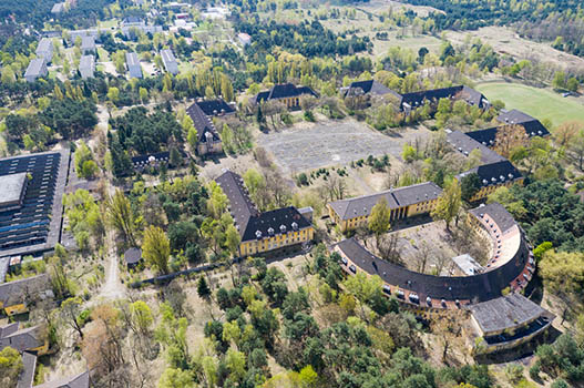 Militärische und industrielle Liegenschaften in Brandenburg - Beispiel Kaserne